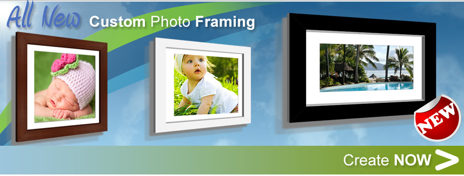 Custom Photo Framing